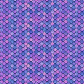 (micro scale) dragon scales - purple/pink 2 - C19BS