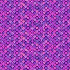 (micro scale) dragon scales - purple/pink - C19BS