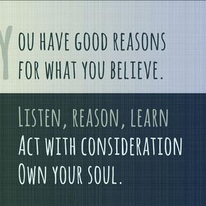 affirmation-reasoning