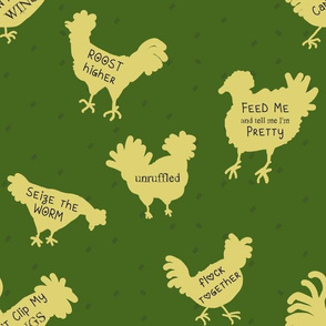 Chicken Wisdom {Large Scale} | Stock Pot