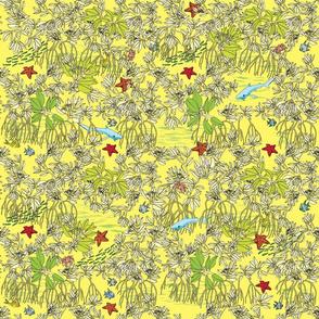 Mangroves Bright Yellow