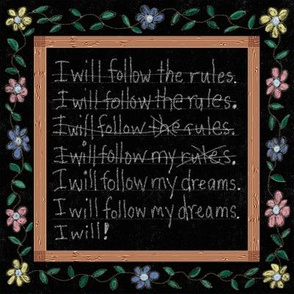 I Will Follow My Dreams!