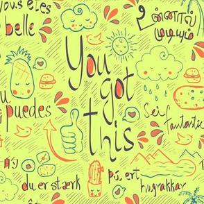 Affirmation doodle