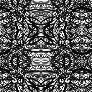 B_W stained glass