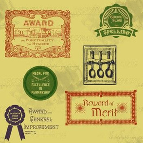 Old-Time School Awards | Stock Pot