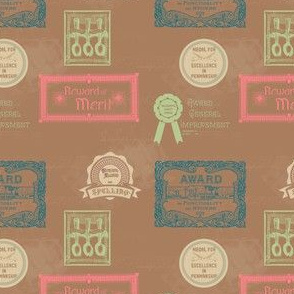 Old-Time School Awards | Vintage Vacation