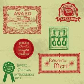 Old-Time School Awards | Retro Festive