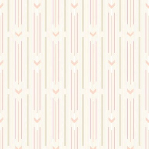 Arrow stripes |  04 – pastel yellow and pink