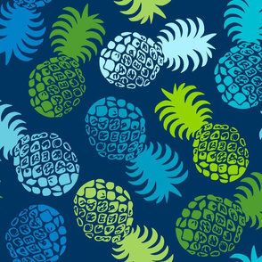 Hawaiian Tropical Pineapple - Cool Multi