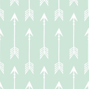 Adventure Arrows Mint and White