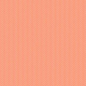 softest coral herringbone