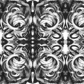 B&W Swirl