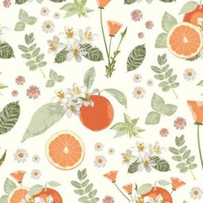 Clementine and Matcha