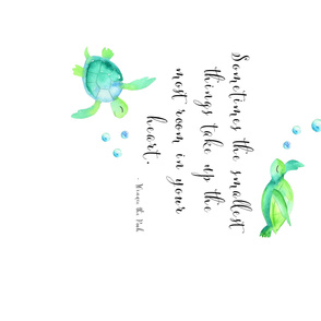 Pooh Quote Turtles