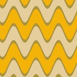 Chevron Rickrack Trendy1920s Colors 1