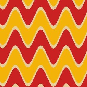 Chevron Rickrack Trendy1920s Colors 3
