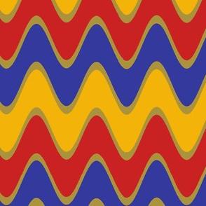 Chevron Rickrack Trendy1920s Colors 5
