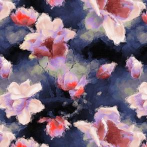 Moody midnight magnolia