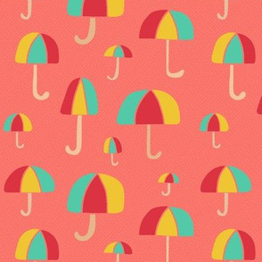 April Showers on Coral