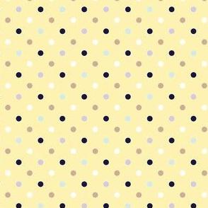 Pop dotted banana yellow