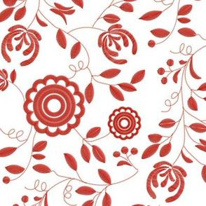 Delsbosöm - Delsbo embroidery - Inggrid