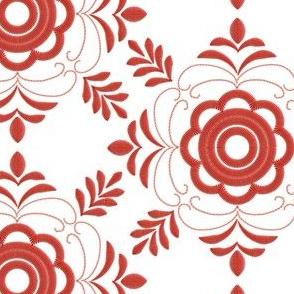 Delsbosöm - Delsbo embroidery - Kristina