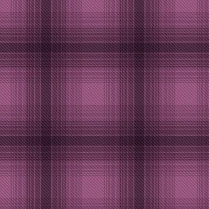 Plaid check bordeaux wine