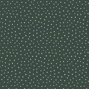Minimal tiny mini dots trend abstract rain drops scandinavian style texture irregular spots green blue winter SMALL
