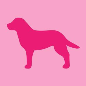Labrador Pinks Silhouette V3