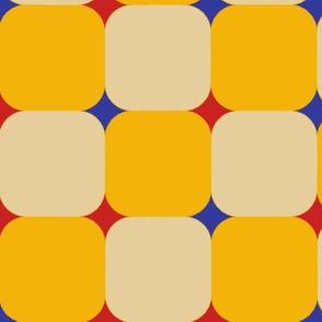Geometric Cheater Trendy1920s Colors 1