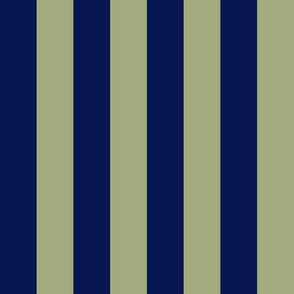 JP31 - LG - Navy and Pastel Olive Basic Stripe