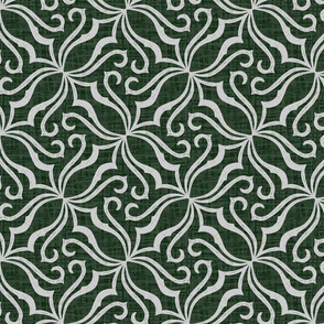 Victorian Parlor - Gothic Green