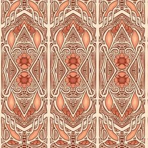 Zig Zag Stripe Victorian Style