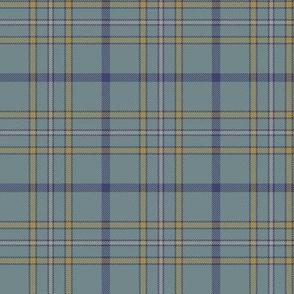 "Alaska ancient flag tartan, 3"" weathered"
