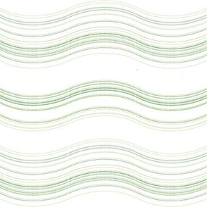 subtle wave - green