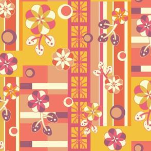 Maximal Florals - Warm - Large
