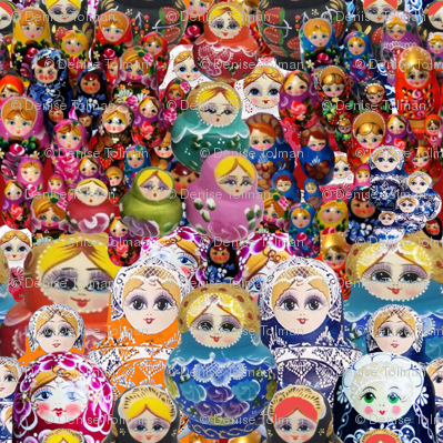Russian Doll Matryoshka Madness Full