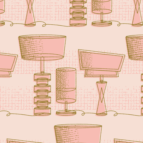 Retro-Luxe lighting Revamp fabric by retrorudolphs on Spoonflower - custom fabric