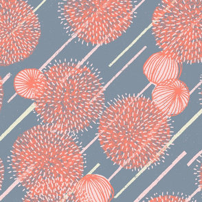 Alliums M+M Smoke Coral by Friztin