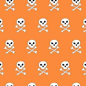 Skull and bones pattern
