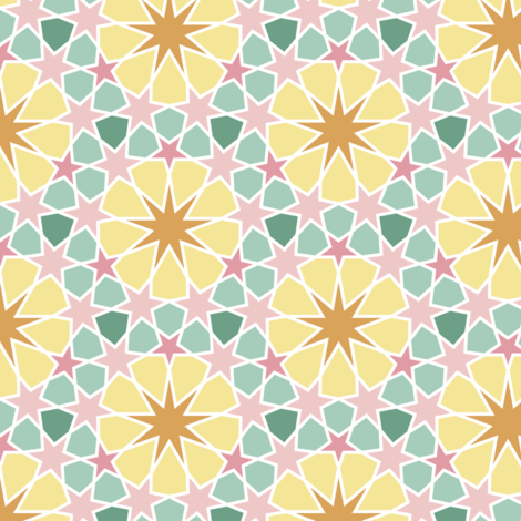 08596348 : U965E3 : springcolors fabric by sef on Spoonflower - custom fabric