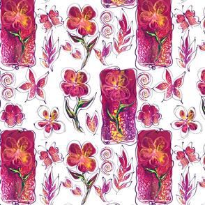 Bold Blooms I Judy Sorrels