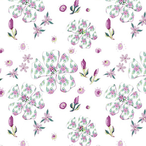 Lacy Days Icons pattern