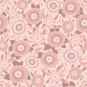 Victoria Floral Pink