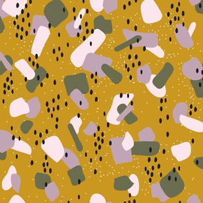 speckles spots & blobs - gold nugget