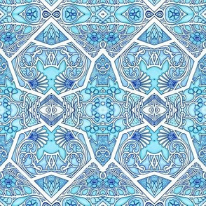 Twisted Blue Breezes