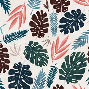 Leafy Boho Paradise - Small