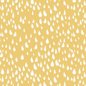Simple Rain Pattern - Gold