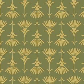 Flora - Mossy Green & Chartruese
