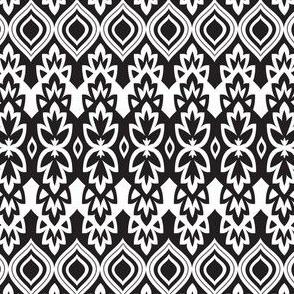 Boho Chic - Black & White